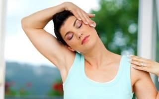 Зарядка при шейном остеохондрозе в домашних условиях