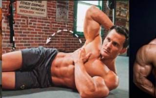Пресс упражнения на бока