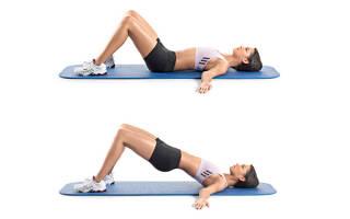 Упражнение мостик для спины