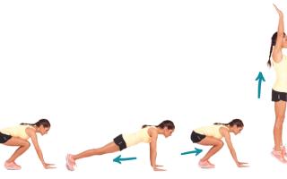 Комплекс упражнений на месяц