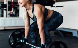 Упражнение становая тяга для женщин