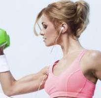 Упражнения для девушек на руки