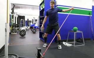 Упражнения в тренажерном зале для хоккеистов