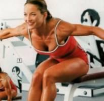 Упражнения для дельты для девушек