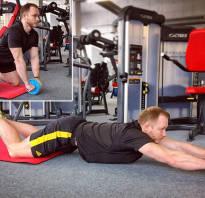 Упражнение с колесом какие мышцы работают