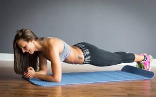 Упражнения для кубиков на животе