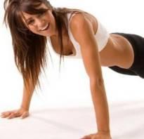 Упражнения для женщин для рук без гантелей