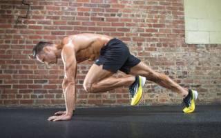 Упражнение скалолаз как правильно делать