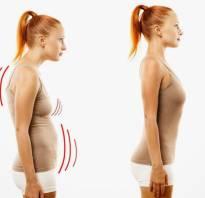 Правильная осанка упражнения для правильной осанки