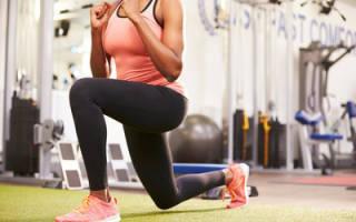Упражнения для малой и средней ягодичных мышц