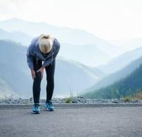 Болят суставы после бега что делать