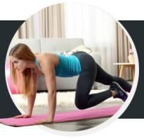 Упражнения для занятий дома для девушек
