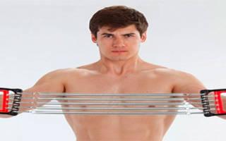 Упражнения для груди с эспандером