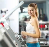 Занятия на беговой дорожке для похудения программа тренировок для женщин