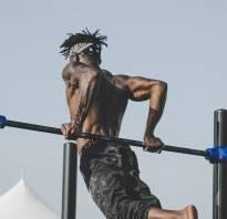 Силовые упражнения на брусьях и турнике