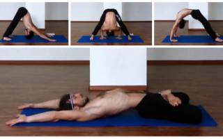 Йога упражнения для мужчин