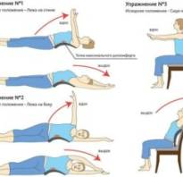 Упражнения для грудного остеохондроза в домашних условиях