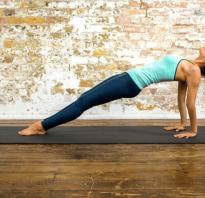Упражнение обратная планка какие мышцы работают