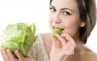 Капустная диета для похудения на 10 дней меню по дням