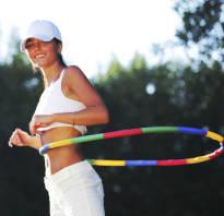 Комплекс упражнений с обручем
