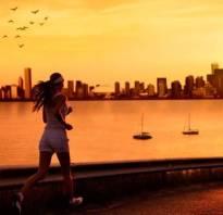Можно ли похудеть от бега по вечерам