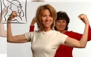 Упражнения для 40 лет для женщин