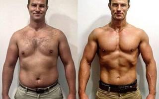 Диета для быстрого похудения для мужчин